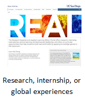 Research, internship, or global experiences.